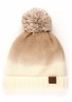 Ombre CC Beanie with Pom and Fuzzy Lining inset 4