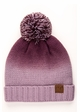Ombre CC Beanie with Pom and Fuzzy Lining inset 3