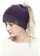 Ombre Confetti CC Beanie with Ponytail Opening inset 3