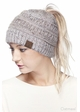 Ombre Confetti CC Beanie with Ponytail Opening inset 4