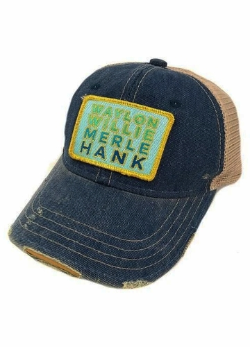Ombre Country Legends Patch Baseball Hat