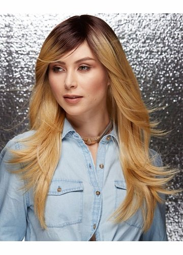 Ombre Honey Sable Wig Hipster