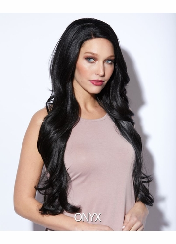 Onyx Long Lace Front Wig Kim