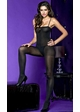 Opaque Bodystocking with Spaghetti Straps inset 1