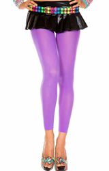 Opaque Capri Footless Tights