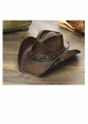 Panama Rose Cowgirl Hat by Stampede inset 1