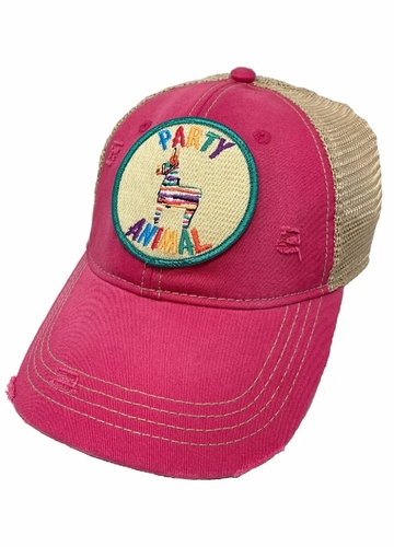 Party Animal Patch Baseball Hat