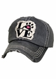 Paw Love Patch Baseball Hat inset 1