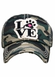 Paw Love Patch Baseball Hat inset 2