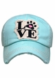 Paw Love Patch Baseball Hat inset 3