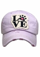 Paw Love Patch Baseball Hat inset 4