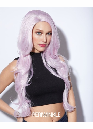 Periwinkle Long Lace Front Wig Kim