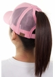 Pink CC Top Knot Trucker Hat inset 1