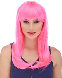 Pink, Fuchsia and Magenta Wigs
