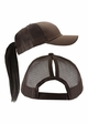 Ponytail Trucker Hat with Mesh Back inset 1
