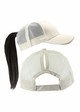Ponytail Trucker Hat with Mesh Back inset 3