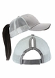 Ponytail Trucker Hat with Mesh Back inset 4