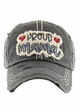 Proud Mama Baseball Hat inset 3