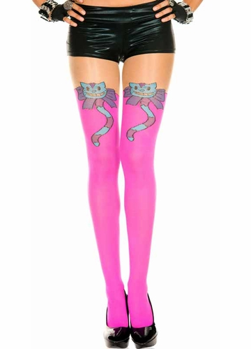 Psychedelic Cat Pantyhose