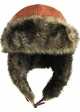 PU Leather Trapper Hat inset 4