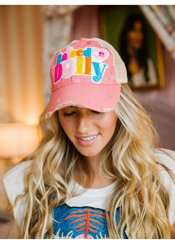 Raised on Dolly Guitar Patch Baseball Hat