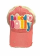 Raised on Dolly Guitar Patch Baseball Hat inset 1