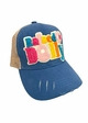 Raised on Dolly Guitar Patch Baseball Hat inset 2