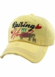 Raising My Heard Vintage Patch Baseball Hat inset 1