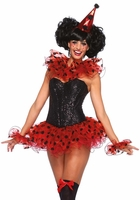 Red Polka Dot Circus Costume Kit