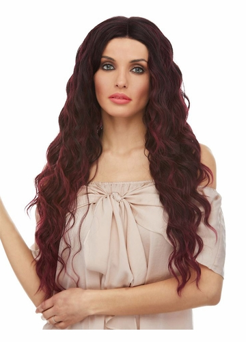 Relaxed Beach Curl Lace Front Wig Nixie