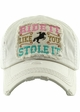 RIDE IT LIKE YOU STOLE IT Washed Vintage Ballcap inset 2