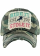 RIDE IT LIKE YOU STOLE IT Washed Vintage Ballcap inset 3