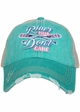 River Hair Don't Care Trucker Hat inset 1