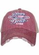River Hair Don't Care Trucker Hat inset 2
