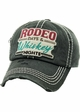 RODEO DAYS & WHISKEY NIGHTS Vintage Baseball Hat inset 3