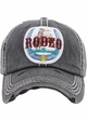 RODEO SWEETHEART Washed Vingtage Ballcap inset 2
