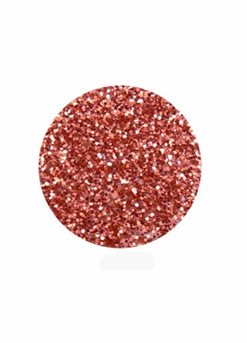 Salmon Orange Color of Luxe Glitter Powder for Eyeliner and Eye Makeup