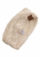 Sequin Cable Knit CC Headband with Plush Lining inset 4