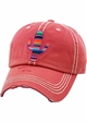 Serape Cactus Vintage Patch Baseball Hat inset 1