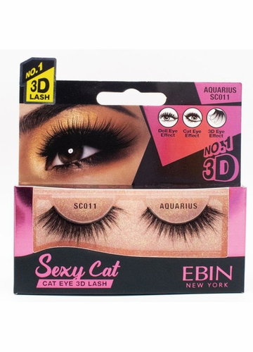 Sexy Cat Eye Lashes - Aquarius