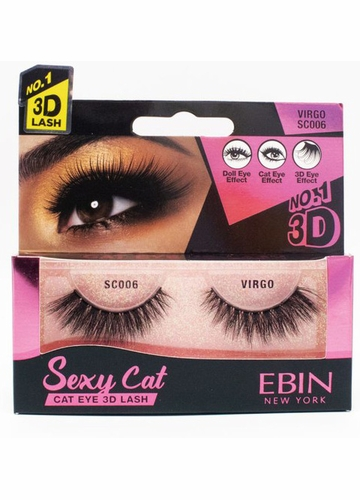Sexy Cat Eye Lashes - Virgo
