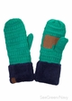 Sherpa Lined CC Mitten Gloves inset 3