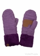 Sherpa Lined CC Mitten Gloves inset 4
