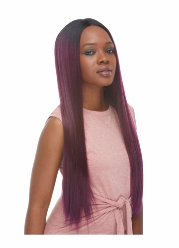 Sleek Silky Long Lace Front Wig Diana