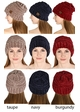 Slouchy Chenille CC Beanie Hat inset 3