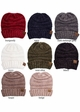 Slouchy Chenille CC Beanie Hat inset 2