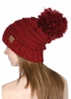 Slouchy Confetti Beanie Hat with Pompom inset 3