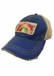 Small Town Girl Rainbow Patch Baseball Hat inset 1