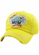 Softball Mom Washed Vintage Ballcap inset 4