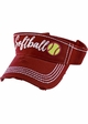 Softball Washed Vintage Sun Visor inset 1